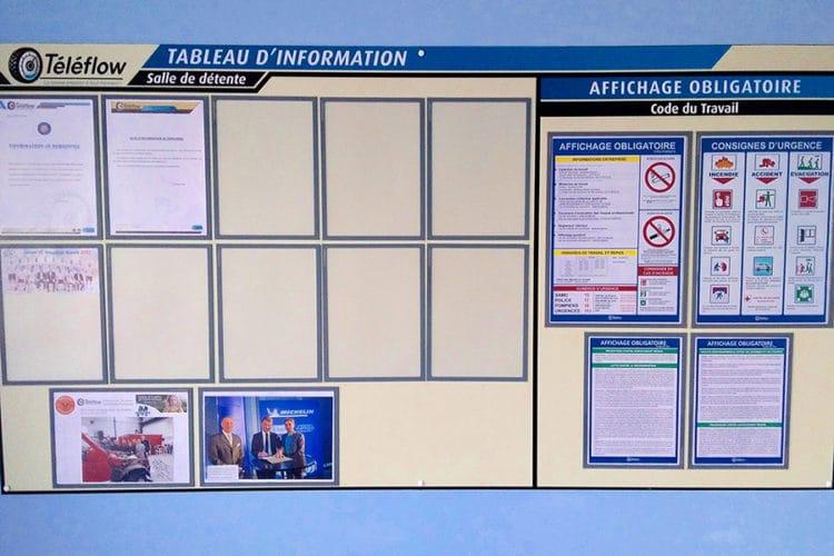 tableau information personnalisé